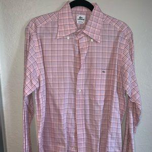 Lacoste Men's Size 42 (L) Dress Shirt Barely Worn